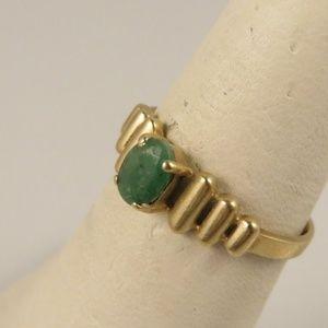 Jewelry - 10k Jade Ring